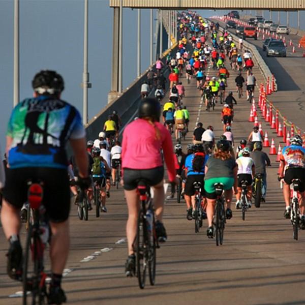 Ride your bike across the San Diego Coronado Bay Bridge, one day only