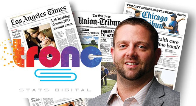 Still in the tronc family: Zack Watson traded his title as U-T digital-strategy director to that of president of Stats Digital.