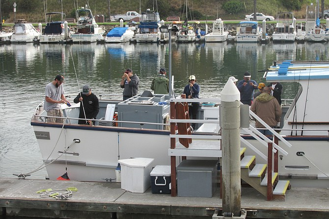 Scripps scientists and volunteer anglers prepare to catch fish in the restricted Encinitas MPA.