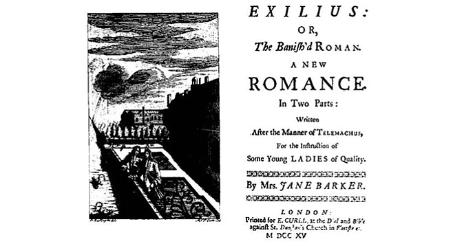 Barker fled England after James II was deposed.