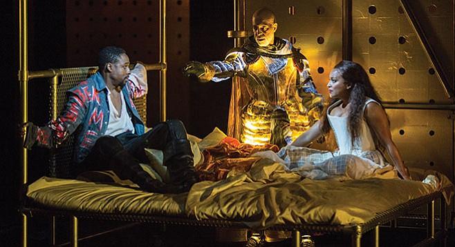 "We don't see many of Hamlet's ""aha moments."""