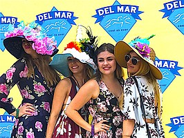 Puckering Up @ Del Mar Races