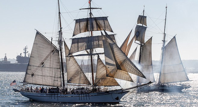 Thanks to naval history buffs, ships were refitted, repaired, and rebuilt full-size.