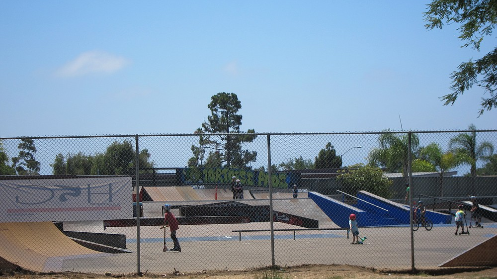 The skate park in Linda Vista will be fenced in like this one in Clairemont.