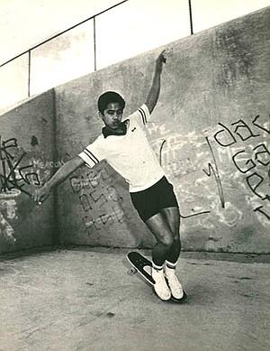"Doug ""Pineapple"" Saladino in June 1980 Skateboarder Magazine"