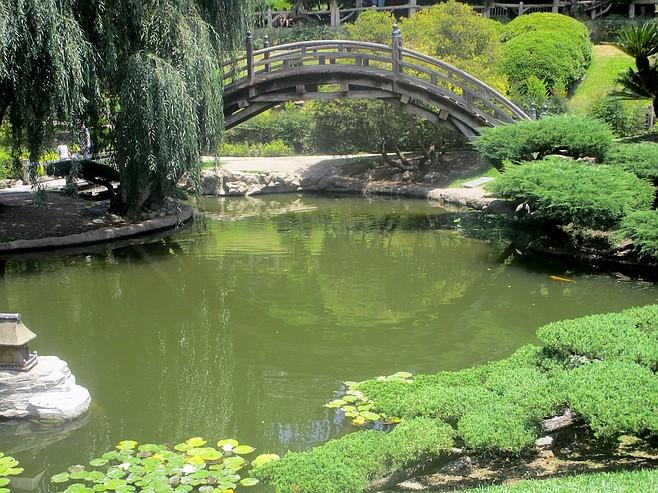 The Japanese Garden.