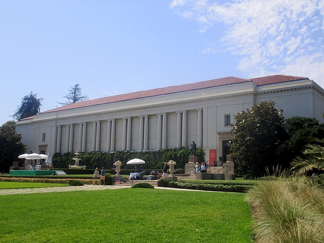 Huntington Library exterior.