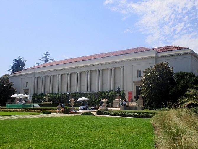 Huntington Library exterior.