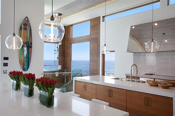 """A kitchen """"...capable of catering to a crowd while also comfortable for one."""""""