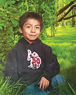 Anthony Hernandez at six years old