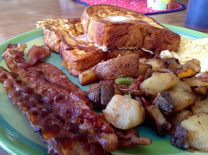 Big Breakfast is the star.