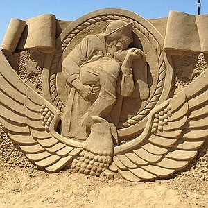 Sand sculptors from around the world will descend on the Port Pavilion on Broadway Pier