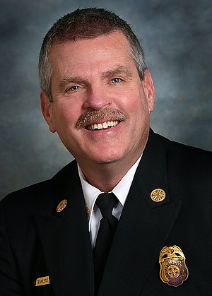Fire chief Brian Fennessy