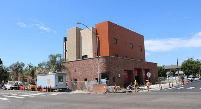 Fire Station 17 is scheduled to be complete in late November.