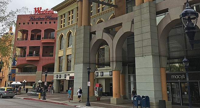 "Horton Plaza was ""the catalyst for downtown San Diego's dramatic rebirth."""
