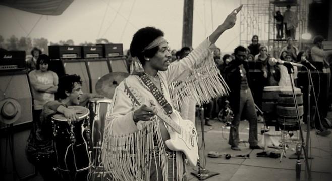 Jimi Hendrix's grandmother was one-quarter Cherokee.