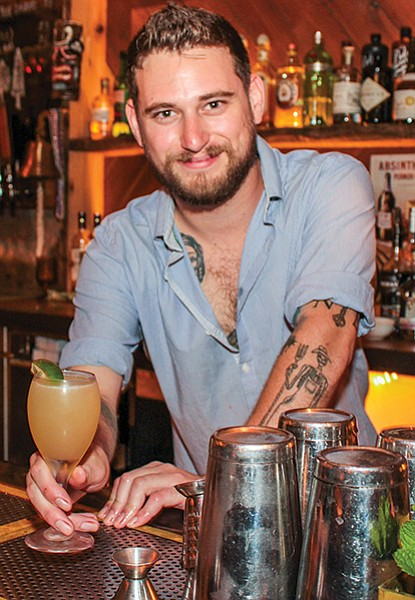 """Jesse Ross: """"I come from a long line of bartenders who utilize really terrible puns."""""""