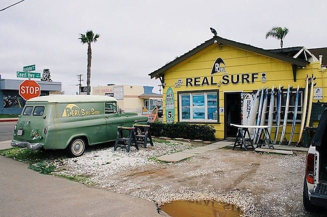 """I have people coming in all the time to see where they shot various scenes,"" says surf-shop owner Sean Ambrose."