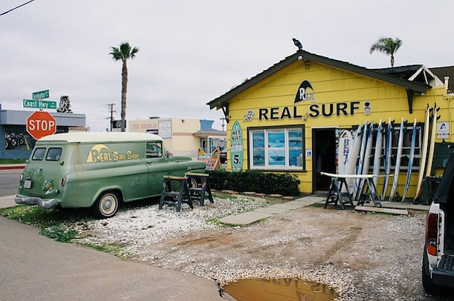 """""""I have people coming in all the time to see where they shot various scenes,"""" says surf-shop owner Sean Ambrose."""