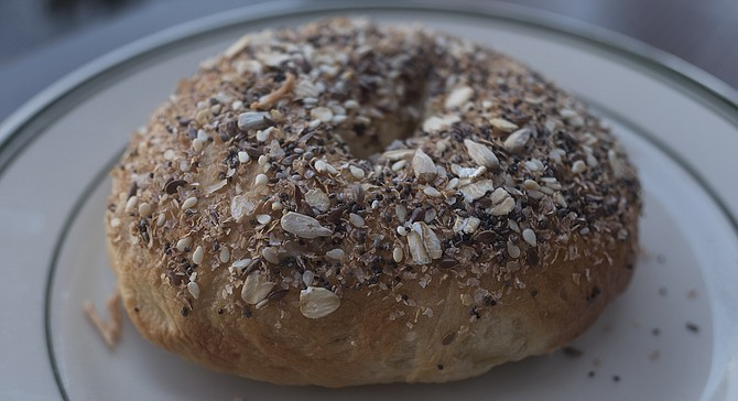 A few hemp seeds away from being the most California bagel imaginable