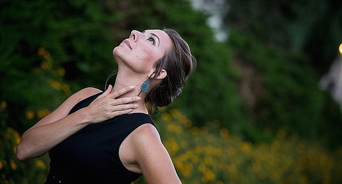 Local-ish mezzo soprano Alexandra Rodrick