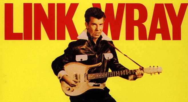 Link Wray, one of several Native Amer...Indian musicians covered in the documentary Rumble: The Indians Who Rocked the World.
