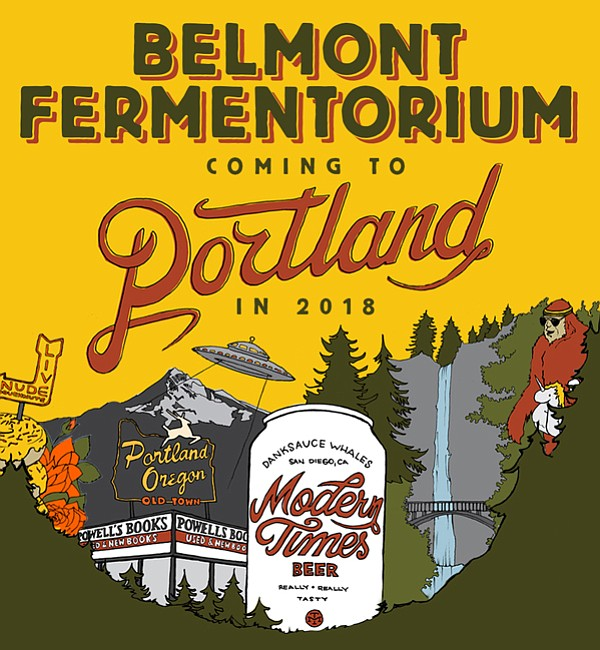 Modern Times announced the move into Portland in a blog post on its website.