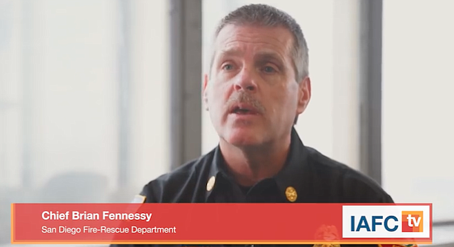 Was Chief Hennessy's move only to get the media off his back?
