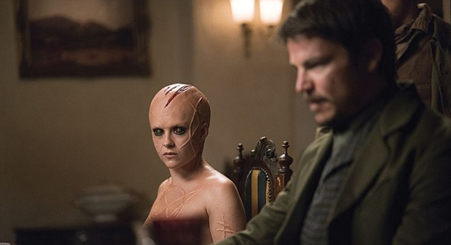 Penny Dreadful.  In characters' brokenness lies beauty.