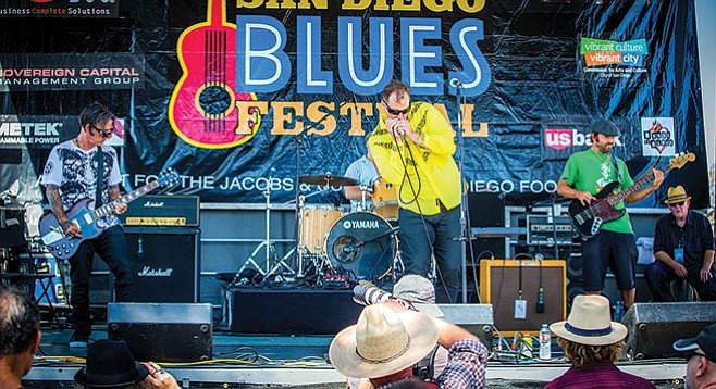 Saturday, September 9: San Diego Blues Festival