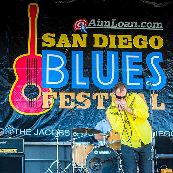 Blues and more blues at the Embarcadero