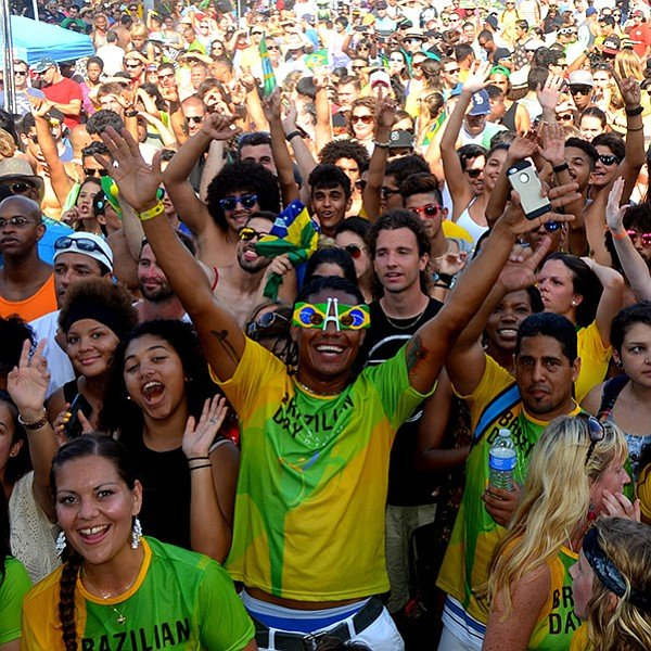 Brazilian music, dance, and a parade in Mission Beach