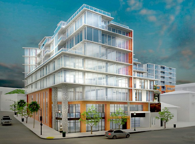 Proposed Columbia & Hawthorn project