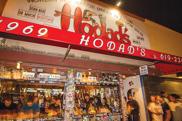 """Mostly I come down here when I want to get high and eat some Hodad's."""