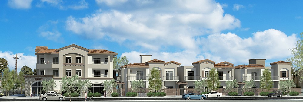 Rendering of new development at 30th and C Streets in Golden Hill; plans are pending approval