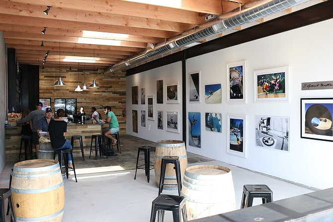 Culture Brewing Co.'s newly opened taproom in Encinitas