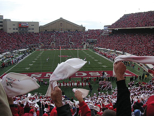 University of Wisconsin stadium — also more than 100 years old