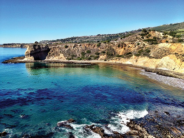 Abalone Cove — beautiful hiking trails, tide pools, two beaches