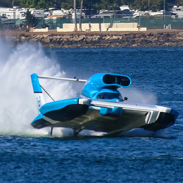 Started out as a simple hydroplane race.