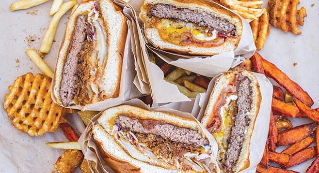 Funky Fries — Make sure you order the burgers medium rare. - Image by Matthew Suárez