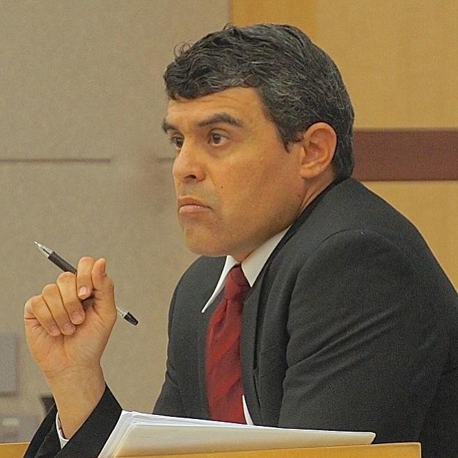 Prosecutor Patrick Espinoza