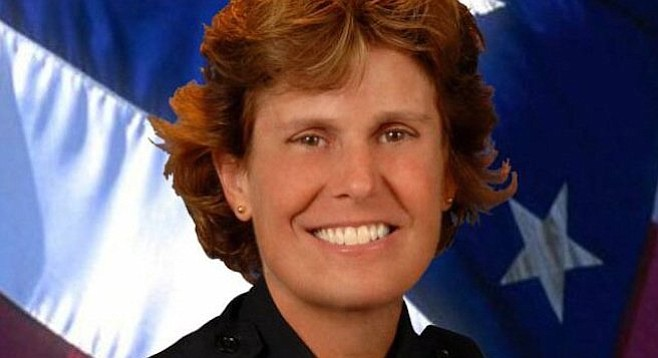 San Diego Police Department chief Shelley Zimmerman