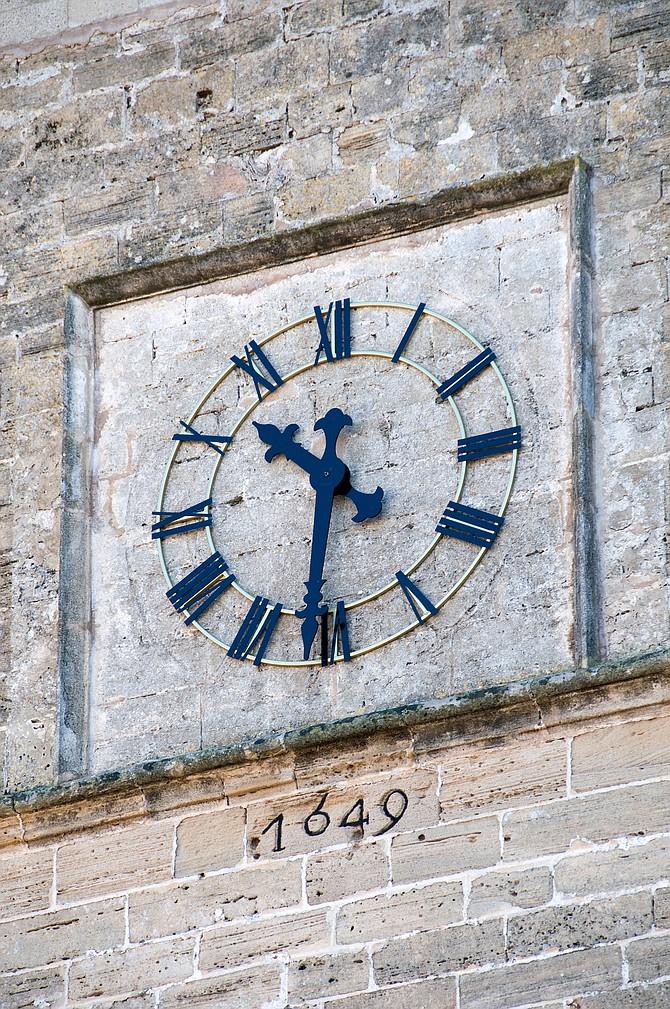 IIII o'clock
