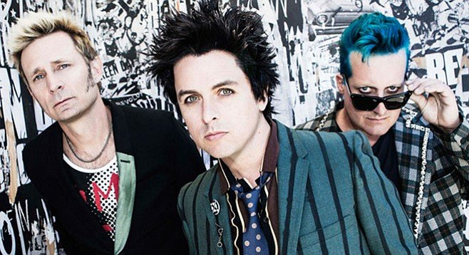 Green Day went and found a manager back East, breaking up with Encinitas-based Pat Magnarella Management.