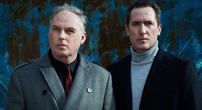 Orchestral Manoeuvres in the Dark is actually the biggest band out of Liverpool