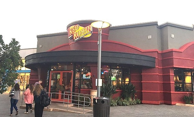 Red Robin at UTC. I performed at a Red Robin for a boy who had recovered from leukemia.