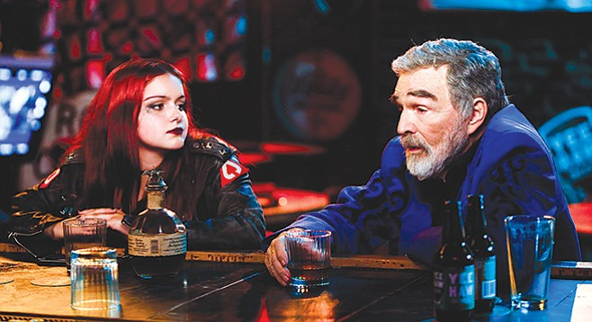 Ariel Winter plays Reynolds's designated driver in Dog Years.