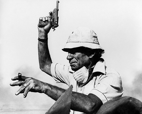 "Sam Fuller calls ""Action!"" on the set of The Big Red One"