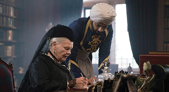 Victoria and Abdul: Abdul Karim is a young man sent to England as a servant. Suddenly, he's in wonderland, and the queen of England takes a shine to him.