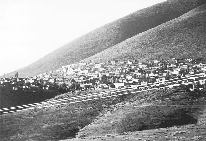 Colonia on hill east of Tijuana